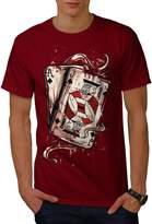 Ace Jack Of Spades Men XXXL T-shirt | Wellcoda