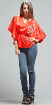 VOOM by Joy Han Butterfly Sleeve Tops from