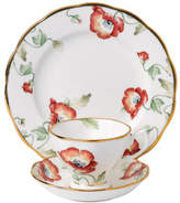 Royal Albert 100 Years 1970 Poppy Teacup, Saucer & Plate