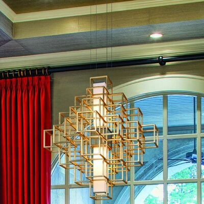 Corbett Lighting Star Of The East 3 Light Unique Geometric Chandelier Shopstyle