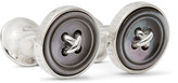 Turnbull & Asser - Sterling Silver Mother-of-pearl Cufflinks