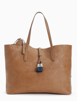 Splendid Key Largo Embossed Plaid Tote