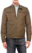 Lucky Brand Nylon Moto Jacket