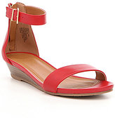 Kenneth Cole Reaction Great Vibe Leather Wedge Sandals