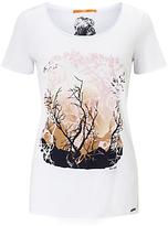 HUGO BOSS BOSS Orange Tasensation T-Shirt, White