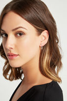 BCBGeneration Faux-Pearl Pave Ear Jacket - Silver