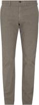 Ermenegildo Zegna Micro hound's-tooth slim-fit trousers