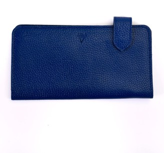 Atelier Hiva Fluctus Leather Wallet Parliament Blue