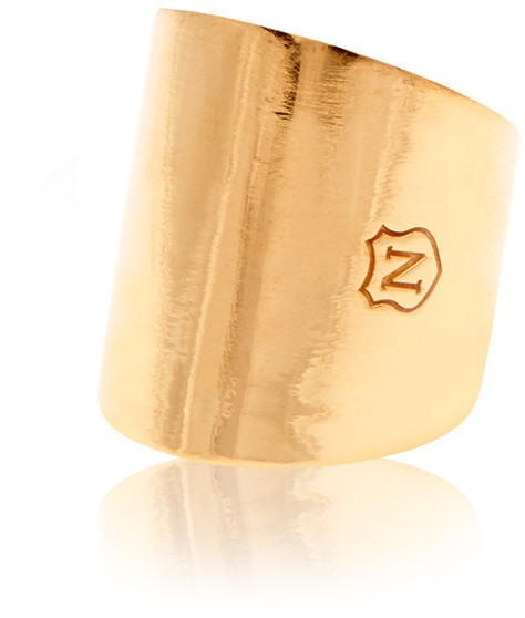 Nialaya Jewelry - Tube Ring In Gold