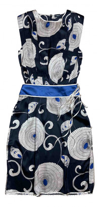 La Perla Blue Silk Dresses