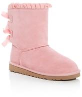 UGG Girls' Bailey Bow Ruffle Boots - Little Kid, Big Kid