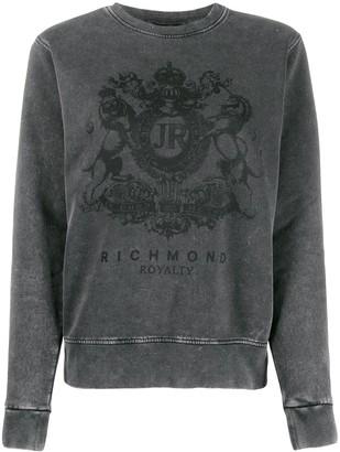 John Richmond Spencer logo print sweatshirt