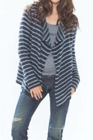 Wooden Ships Blue Striped Cardigan