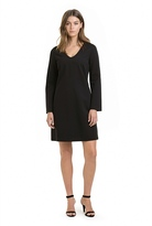 Country Road Ponte Bell Sleeve Dress