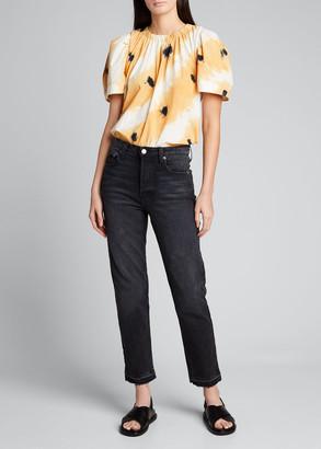 Sea Tamara Tie-Dye Short-Sleeve Top