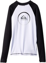 Quiksilver Active Long Sleeve Rashguard Boy's Swimwear