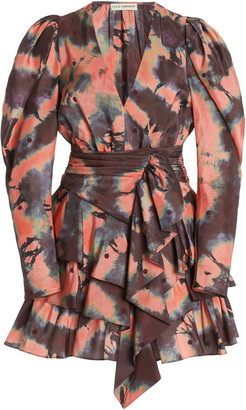 Ulla Johnson Semira Silk Mini Dress