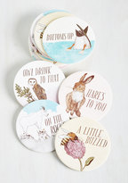 Chronicle Books Have a Little Pun Coasters