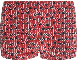 Miu Miu All-over Logo Boxer Shorts