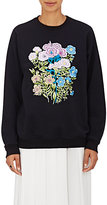 Christopher Kane WOMEN'S FLOWER-APPLIQUÉ SWEATSHIRT