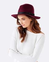 Forever New Ruby Fedora Felt Hat