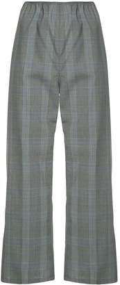 Sofie D'hoore cropped check trousers