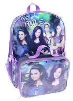 "Disney Decendants Backpack with Lunch Kit - Black (16"")"