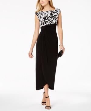 Connected Petite Soutache-Top Gown
