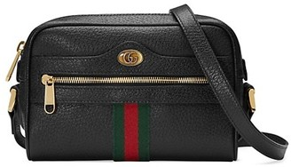 Gucci Mini Ophidia Leather Crossbody Bag