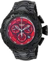 Invicta Men's 'JT' Quartz Stainless Steel Casual Watch, Color:Black (Model: 23610)