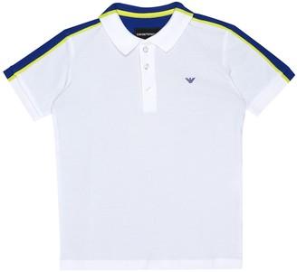 Emporio Armani Kids Cotton T-shirt