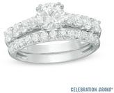 Zales Celebration Grand® 2 CT. T.W. Diamond Bridal Set in 14K White Gold (I/I1)