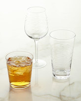 Horchow Etched Highballs, Set of 4