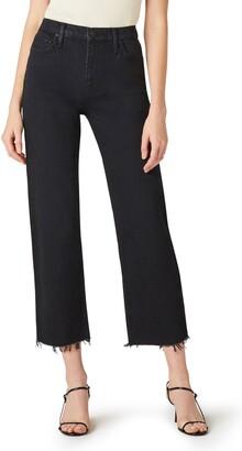 Hudson Remi High Waist Crop Straight Leg Jeans