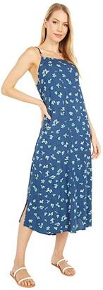 O'Neill Lexi Floral Dress (Insignia Blue) Women's Dress