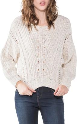 Silver Jeans Co. Women's Shawni Boxy Crop Sweater