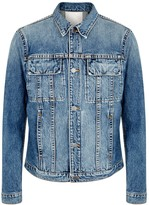 Helmut Lang Mr-87 Blue Denim Jacket