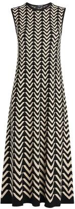 Max Mara Bruges Sleeveless Midi Dress