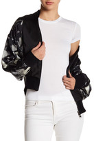 Fate Print Bomber Jacket