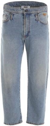 MSGM Light-wash Jeans