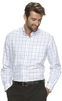 Croft & Barrow Men's Classic-Fit Grid Easy-Care Button-Down Shirt