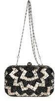 Juicy Couture Black Beaded Minaudiere Clutch