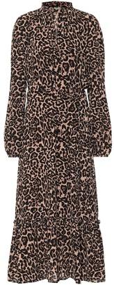 Baum und Pferdgarten Antoinette leopard-print maxi dress