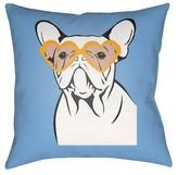 Surya Puppy Love Throw Pillow