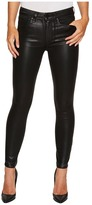Paige Hoxton Ankle in Black Fog Luxe Coating Women's Jeans