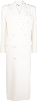 Magda Butrym Double Breasted Tailored Long Coat