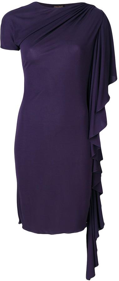 Jean Paul Gaultier Pre-Owned waterfall draped dress