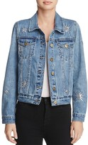 Pistola Sequin-Starburst Denim Jacket - 100% Exclusive