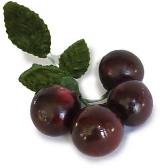 One Kings Lane Vintage Midcentury Italian Alabaster Cherries - Rose Victoria