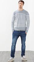 Esprit OUTLET - Striped melange jumper